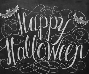Halloween and happy halloween image