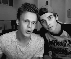 joe, caspar, and joe sugg image