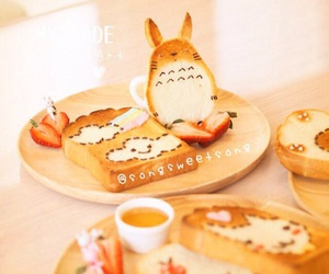 food, kawaii, and totoro image