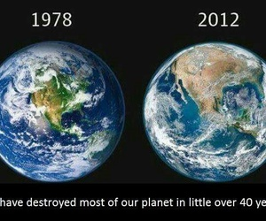 destroyed and earth image