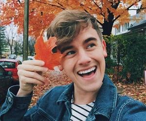 connor franta, autumn, and youtube image