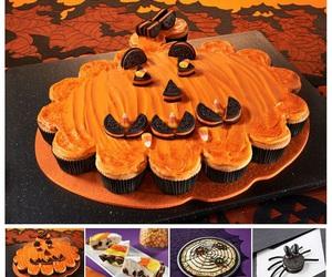 cupcakes, food, and Halloween image