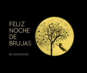bruja, frases, and Halloween image