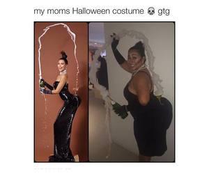 Halloween and kim kardashian image