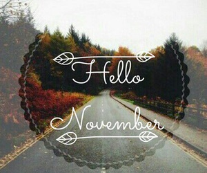 november and autumn image