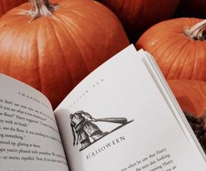 ghosts, hogwarts, and pumpkin image