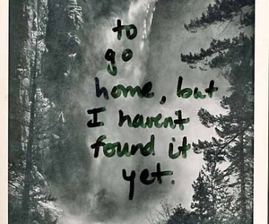 home, quotes, and lost image