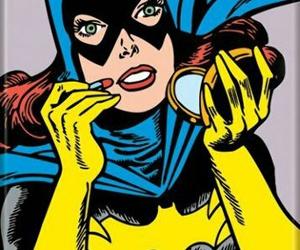 batgirl, art, and comic image