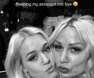 black and white, charlotte tomlinson, and lou teasdale image