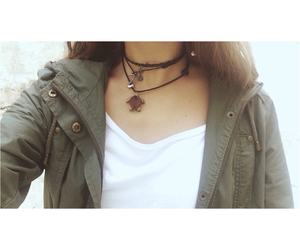 choker, turtle, and neck image