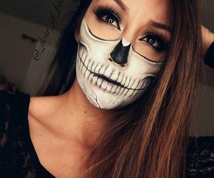 makeup, Halloween, and grunge image