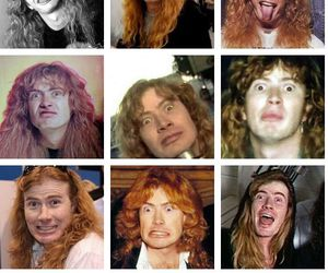 crazy, funny face, and megadeth image
