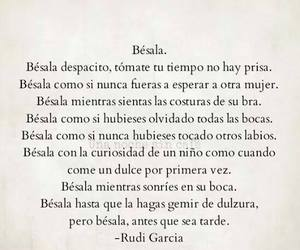 amor, frase, and beso image