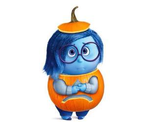 Halloween, inside out, and sadness image