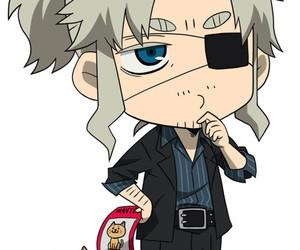 gangsta, anime, and chibi image