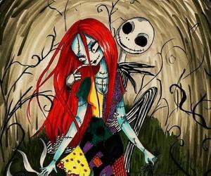 sally, jack, and Halloween image
