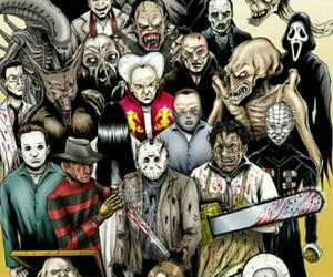horror and terror image