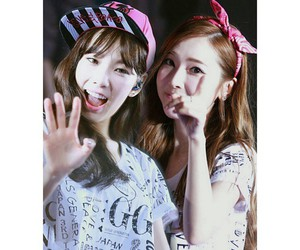 snsd, taeyeon, and love secret image