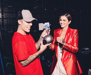 justin bieber and ruby rose image