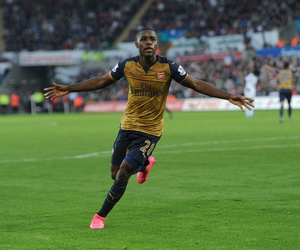 afc, joel campbell, and Arsenal image