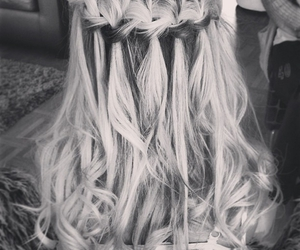 black and white, hairstylist, and tumblr image