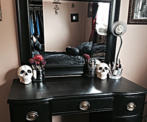 gothic and goth decor image