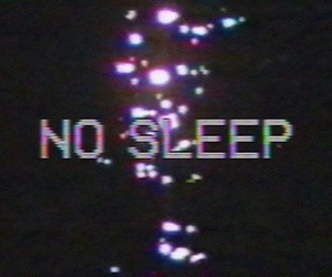 grunge, sleep, and no sleep image
