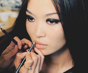 girl, makeup, and asian image