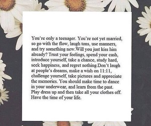 teenager, life, and quotes image