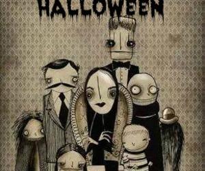 addams family and Halloween image