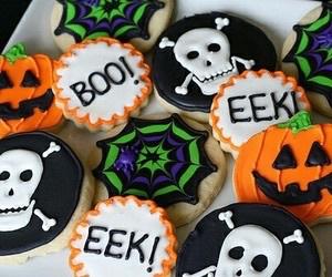 Cookies, Halloween, and pumpkins image