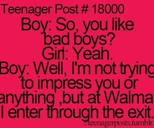 teenager post, boy, and funny image