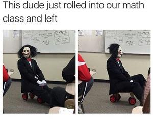 funny, Halloween, and math image