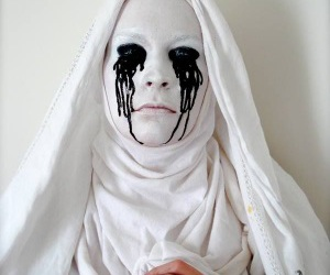 Halloween, costume, and face painting image