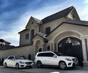 car, house, and luxury image