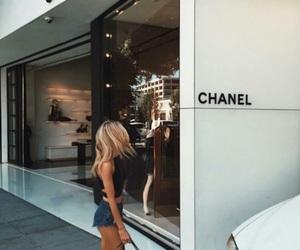 chanel, girl, and fashion image