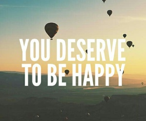 happy, wallpaper, and quote image