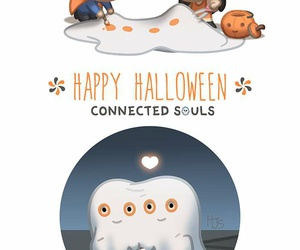 connection, souls, and Halloween image
