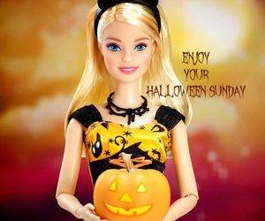 barbie and Halloween image