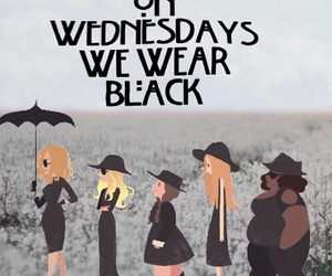 black, coven, and ahs image