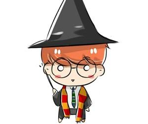 chibi, fanart, and Halloween image