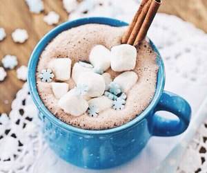 winter, christmas, and chocolate image
