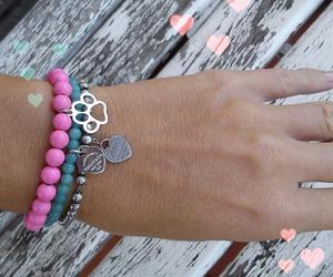 bracelet, cat, and fashion image