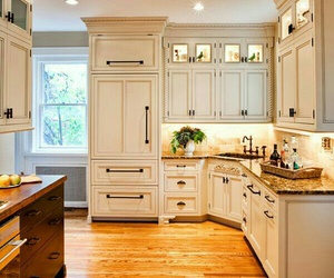 inspirations, wallpapers, and warm designer kitchen image