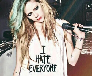 Avril Lavigne, Avril, and hate image