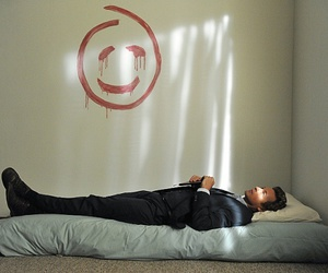 the mentalist, red john, and patrick jane image