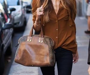 bags, brown, and fashion image