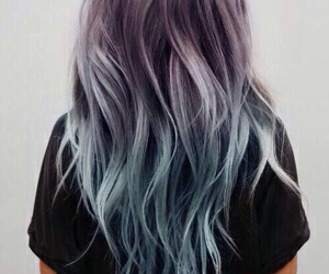 blue, hair, and girls image
