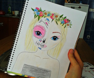 art, october, and drawing image