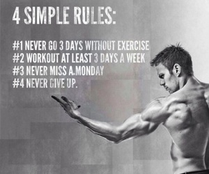 b&w, fit, and motivation image
